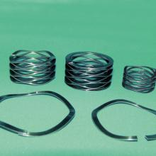 Rotor Clip Flat Wire Wave Springs Retaining Rings
